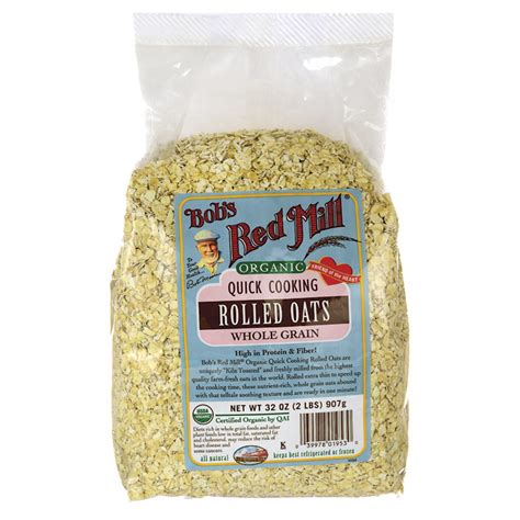 Bob S Mill Gluten Free Organic Cooking Rolled Berkualitas bob s mill organic cooking rolled oats 32 oz pkg