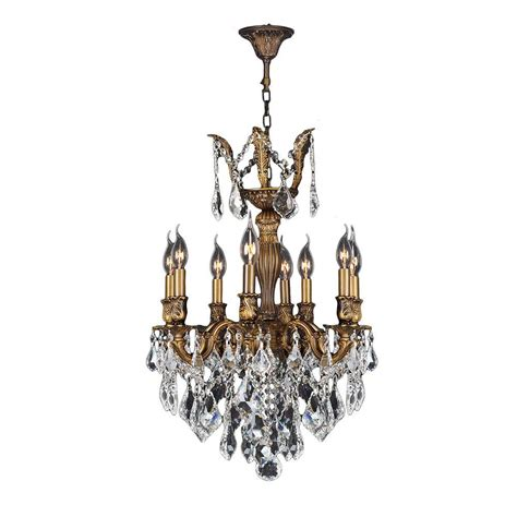 versailles chandelier worldwide lighting versailles collection 8 light crystal
