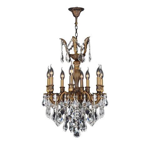 Versailles Chandelier Worldwide Lighting Versailles Collection 8 Light And Antique Bronze Chandelier W83334b19