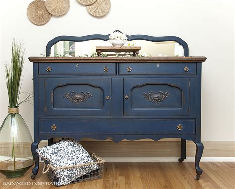 blue buffet blue buffet makeover dixie paint giveaway salvaged inspirations