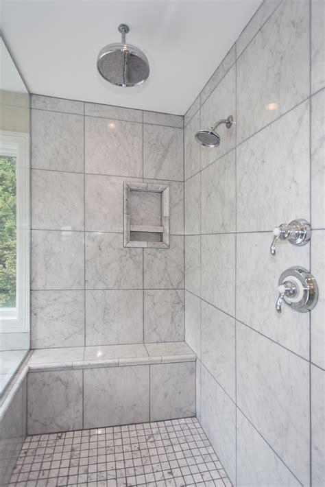 Bathroom Ceiling Tile by Designing The Shower