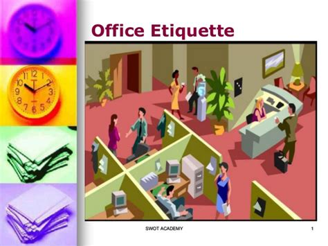 Office Etiquette Office Etiquette Tips