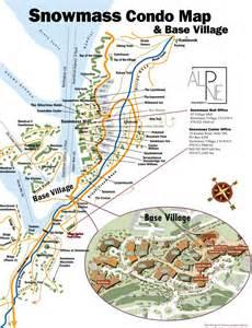 map of snowmass colorado snowmass condo map alpine property