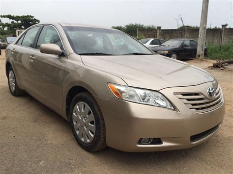 sold clean title toyota camry muscle le  miles autos nigeria