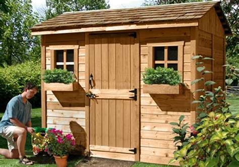Cabana Shed Kits by Shed Kits For Sale 9x6 Cabana Outdoor Living Today