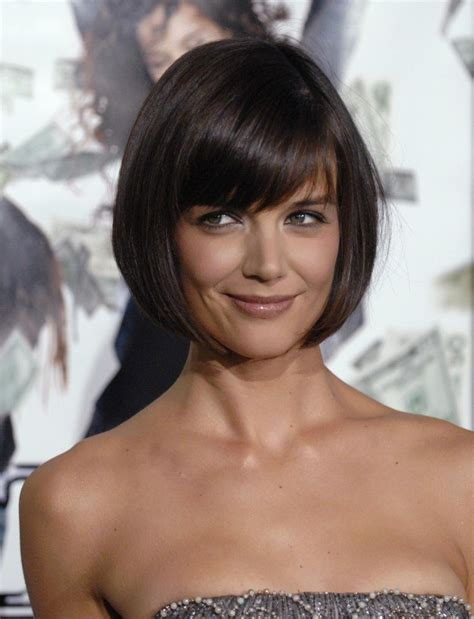 how to cut a katie holmes bob hair tutorial 27 short hairstyles in 10 minutes or less
