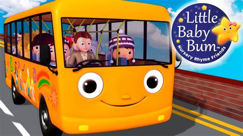 bysabys bys a bys wheels on the bus part 5 nursery rhymes original