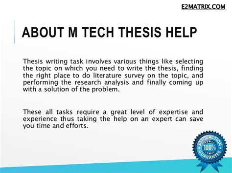 m tech dissertation readymade m tech thesis