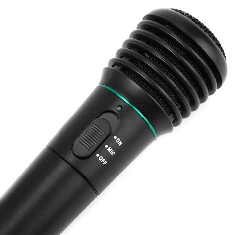 Baterai Mic mikrofon profesional 2 in 1 wireless wired wm 308