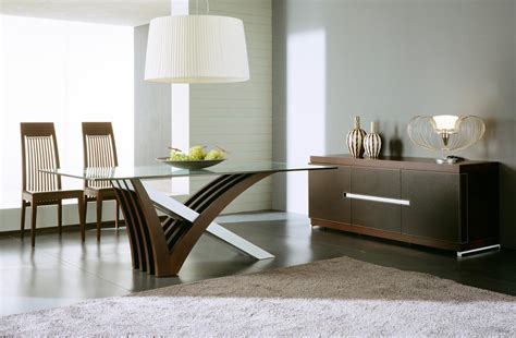 Modern Dining Room Buffet Attractive Decor With A Modern Dining Room Sets Trellischicago