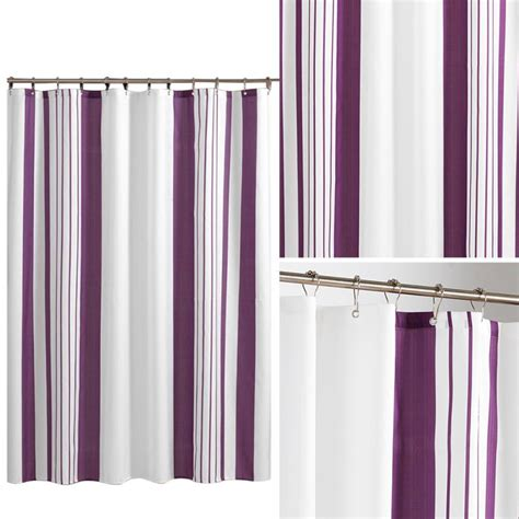Vertical Striped Curtains Vertical Striped Shower Curtains Promotion Shop For Promotional Vertical Striped Shower Curtains