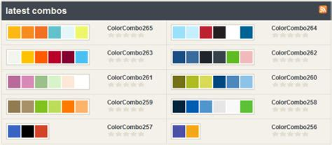 best color combinations for websites 25 color combination tools for designers pro blog design