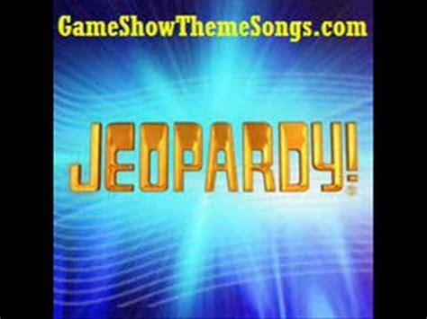 jeopardy theme music youtube jeopardy theme song game show theme songs youtube