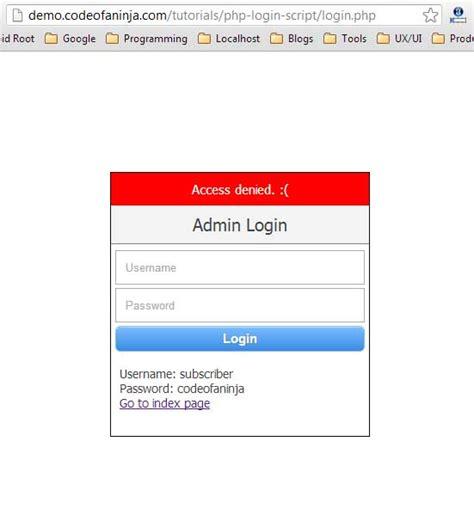 tutorial video php php login script tutorial