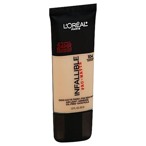 L Oreal Infallible Pro Matte Foundation Shade Golden Beige l or 233 al 174 infallible pro matte foundation in golden beige bed bath beyond