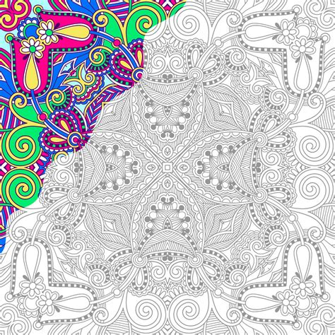 coloring pages with numbers for adults coloring pages free color by number printables for adults