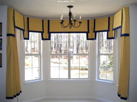 5 sided bay window curtain rods window treatments bays and valances on pinterest