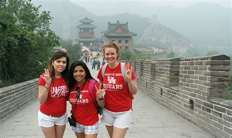 uh funds scholarships  students  study  china