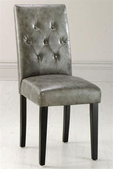 gray leather parsons chairs quot murphy desk 32 quot quot hx22 quot quot w brown wood quot home s interior
