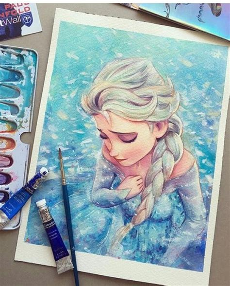 25 best ideas about frozen painting on disney paintings disney canvas and olaf