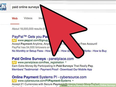 Free Online Survey For Money - 3 ways to make money with free online surveys wikihow