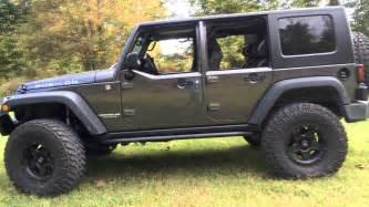 Jeep Wrangler 2 Door Vs 4 Door Factory Jk Half Doors With Factory Hardtop On A 2014 Jeep