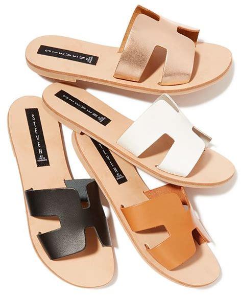 Steve Madden Greece Sandal by Steven By Steve Madden Greece Sandals Reviews Sandals Flip Flops Shoes Macy S