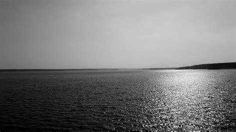 black and white ocean wallpaper lakes ocean black white sunlight reflection water sky