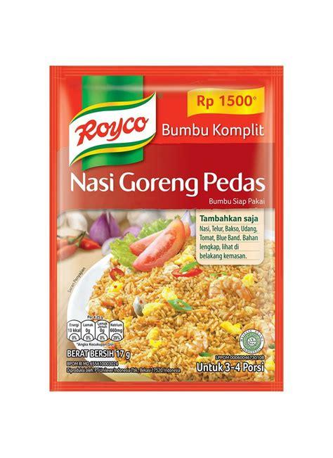 Makaroni Goreng Pedas 100g royco bumbu komplit nasi goreng pds pck 17g klikindomaret