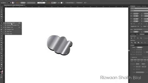 what colors make silver silver effect in adobe illustrator