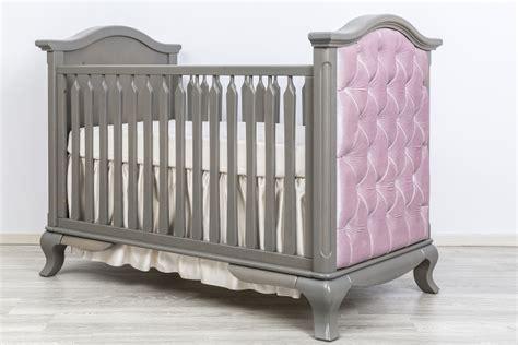Romina Cleopatra Crib by Romina Cleopatra Classic Crib With Pink Velvet Tufting