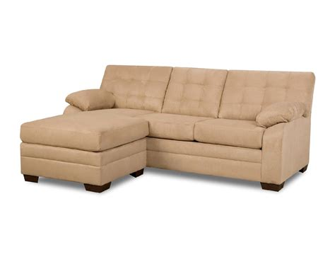 simmons upholstery dawson beige sectional chaise home