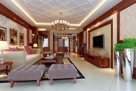 Wood Ceiling Design For White Living Room 3d House Free Living Room Ceiling Designs