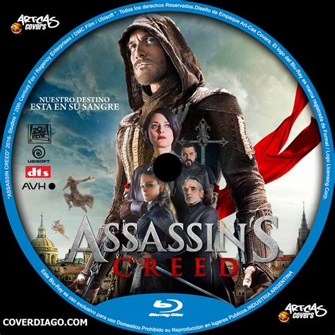 Assassins Creed I 2 Cd Assassins Creed Bluray Cover Diago