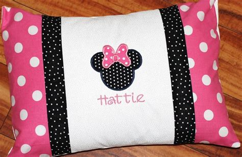 Minnie Mouse Pillow Cases by Or Boys Personalized Minnie Or Mickey Mouse