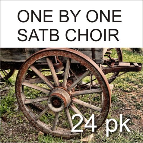 One Graphic 24 one by one satb 24 pk digital wayne burton