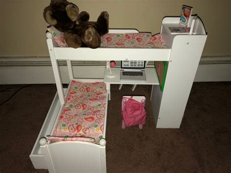 18 Inch Doll Bunk Bed With Trundle Gift Idea For Eimmie 18 Inch Doll Bunk Beds W Trundle Bb Product Reviews