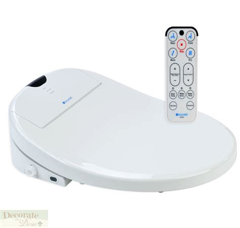 Toilet Seat With Bidet bidet brondell elongated swash 1000 toilet seat remote