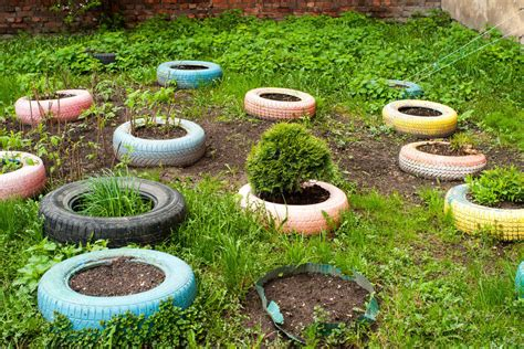 Tire Garden by 29 Flower Tire Planter Ideas For Your Yard And Home
