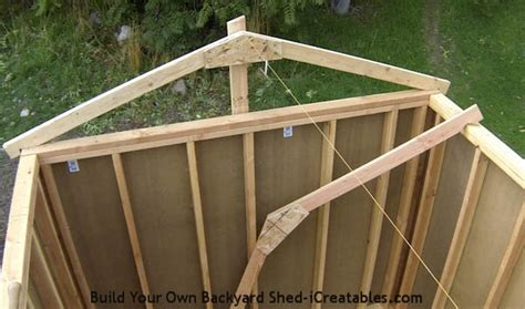 build  shed build  shed roof