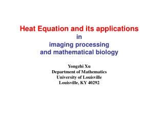 ppt fourier s and the heat equation powerpoint