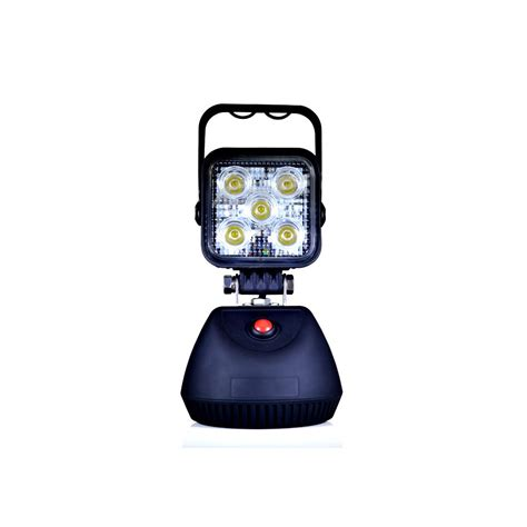 magnetic led work light rechargeable led work light 15w rechargeable with magnet base sturdy
