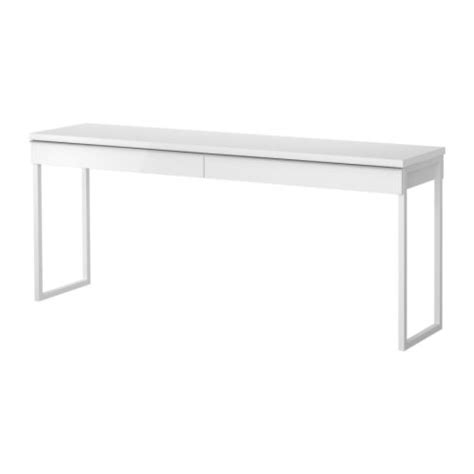 besta burs best 197 burs desk high gloss white 180x40 cm ikea