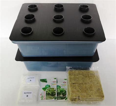 Jual Rockwool Hidroponik Kediri pembibitan tanaman hidroponik bibit