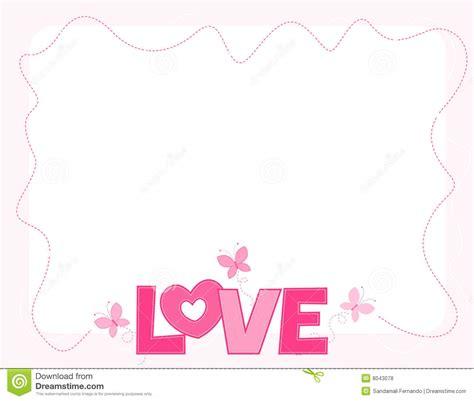 design frame love love border royalty free stock photos image 8043078