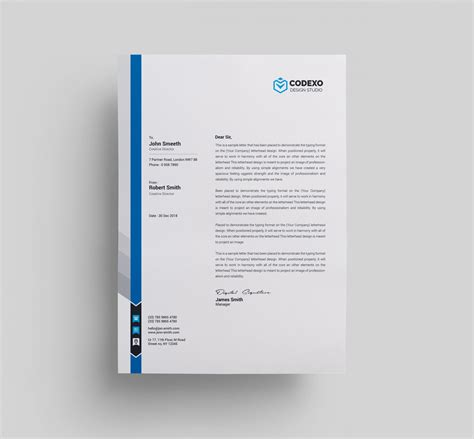 Letterhead Templates 000579 Template Catalog Stationery Templates
