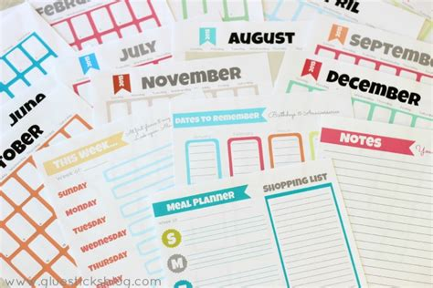 printable day planner pages 2015 2015 free planner printables
