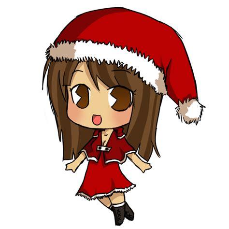 anime chibi navidad chibi by yuko san on deviantart