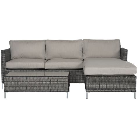 outdoor living room set monterey gray outdoor living room set
