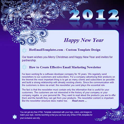 happy new year email template 28 images email template